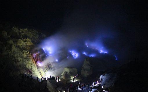 【バリ島発】イジェン山ブルーファイヤー1泊2日