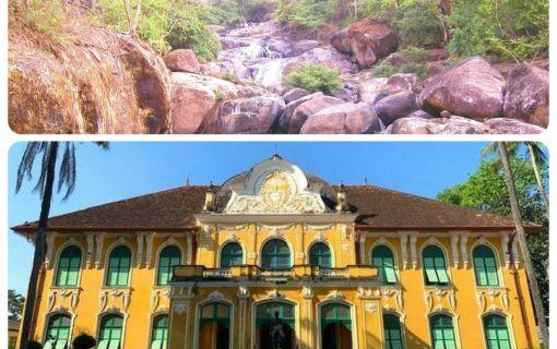 清流の里ナコンナヨックとハーブ産地プラチンブリーのアバイブーベ病院 (バンコク発)