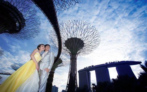ベーシックプラン(シンガポール フォトウェディング 【週末も夜景もドレスも選べるロケーションフォトプラン】)