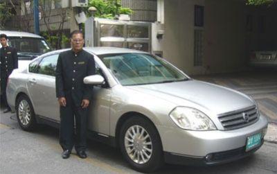 空港からバンコク市内までの送迎リムジン
