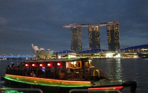食事なし・シンガポールフライヤーなしプラン(夕方発!シンガポール夜景ツアー)