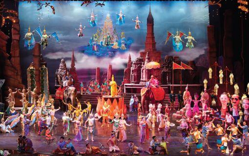 【ゴールデンシート / 夕食付き】サイアムニラミット / タイ伝統舞踊ショー (バンコク)