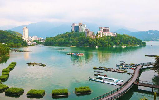 【台中発】台湾八景!日月潭ぐるっとツアー