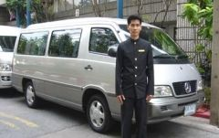 バン料金(空港からバンコク市内までの送迎リムジン)