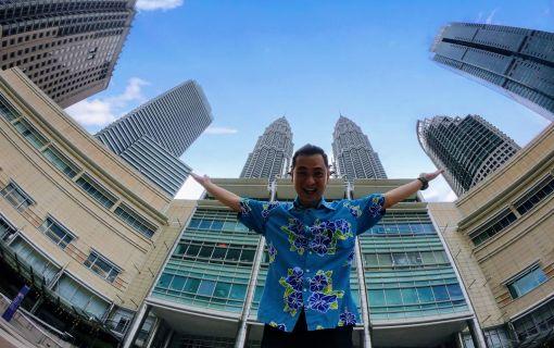 マレーシア横断オンラインツアー
