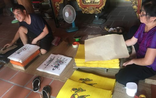ベーシックプラン ハノイ伝統工芸村を訪ねて